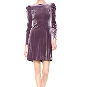 NWT Vince Camuto Purple Velvet Dress